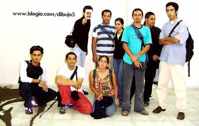 GRUPO DE PARTICIPANTES DEL TALLER DE DIBUJO 5